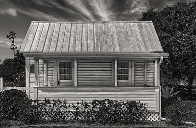 Photograph - Cigar Cottage - Circa 1890 - Florida by Frank J Benz
