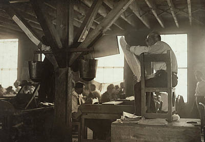Cigar Factory Photograph - Cigar Factory, 1909 by Granger
