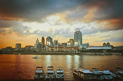 Cincinnati Ohio IIi Art Print by Scott Meyer
