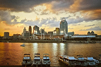 Photograph - Cincinnati Ohio by Scott Meyer