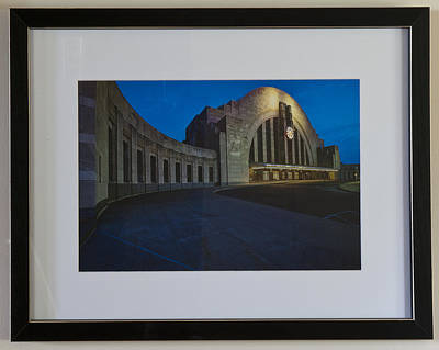 Cincinnati Union Terminal Art Print