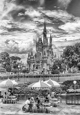 Photograph - Cinderella's Palace by Howard Salmon