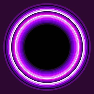 Tribal Art Painting - Circle Motif 144 by John F Metcalf