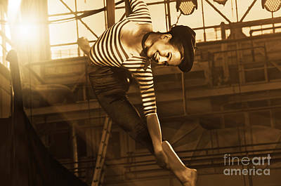 Photograph - Circus Performer by Sarah Mullin
