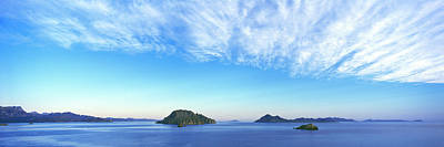 Cirrus Clouds Over The Islands Art Print