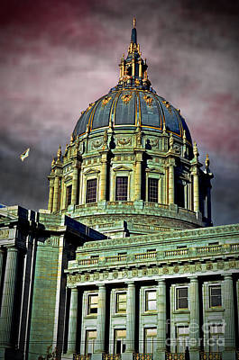 Photograph - City Hall San Francisco II by Jim Fitzpatrick