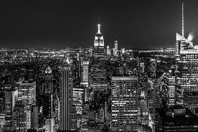 Photograph - City Lights by Mihai Andritoiu