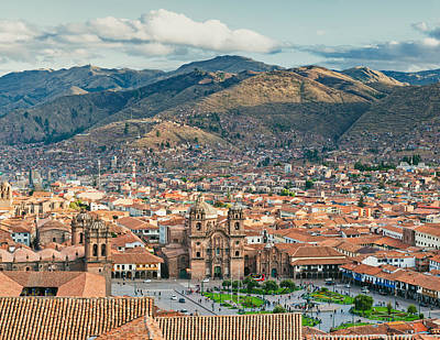 Photograph - City Of Cuzco by U Schade