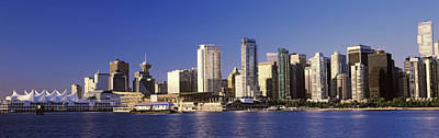 Vancouver Photograph - City Skyline, Vancouver, British by Panoramic Images