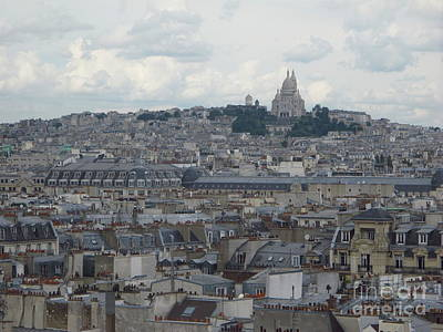 Popular Rustic Neutral Tones - City View from Pompidou by Luis Moya