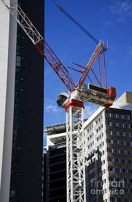 Crane Photograph - Cityscape Crane by Jorgo Photography - Wall Art Gallery
