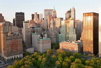 Cityscape Of Midtown Manhattan, New Art Print by Peter Adams