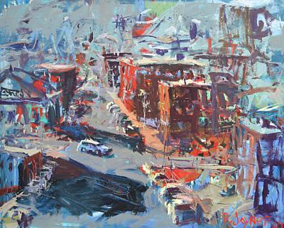 Painting - Cityscape Print by Robert Joyner
