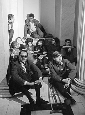 Sit-ins Photograph - Civil Rights Protest, 1965 by Granger