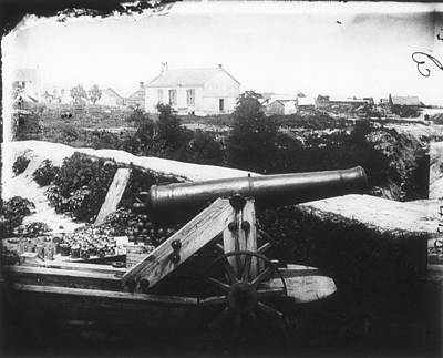 Civil War Cannon, 1862 Art Print