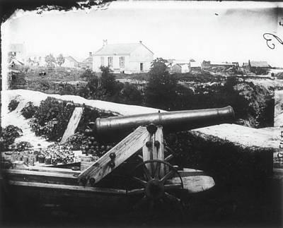 Civil War Cannon, 1862 Art Print by Granger