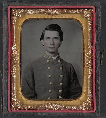 Civil War Soldier, C1862 Art Print