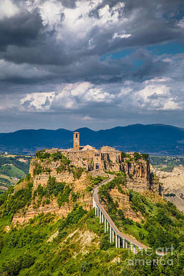 Civita Di Bagnoregio Art Print by JR Photography