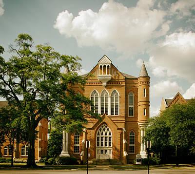 Clark Hall - University Of Alabama Art Print by Mountain Dreams