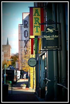 Clarksville Art Print by Shannon Wall
