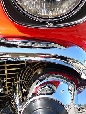 Photograph - Classic Car As Art by Jeff Lowe