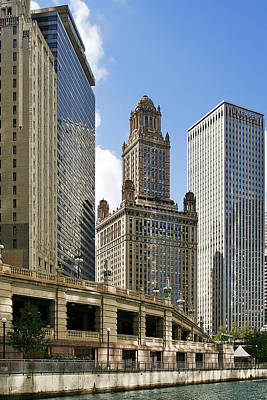 Classic Chicago -  The Jewelers Building Art Print by Christine Till