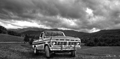 Photograph - Classic Ford Truck  by Amber Summerow