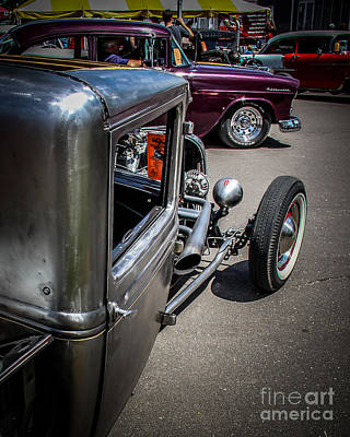 Rat Rod Digital Art - Classic Street by Perry Webster