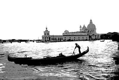 Photograph - Classic Venice by Jacqueline M Lewis