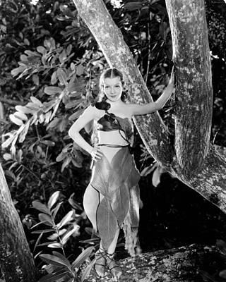 Claudette Colbert Photograph - Claudette Colbert by Silver Screen