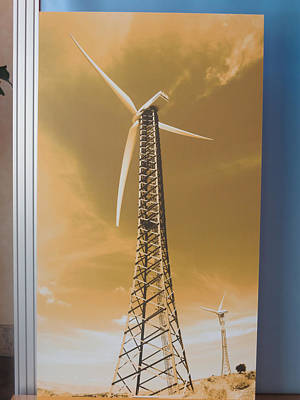 Photograph - Clean Wind Energy Best Natural Resource by Navin Joshi