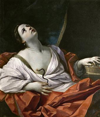 Cleopatra Reni Painting - Cleopatra by Guido Reni