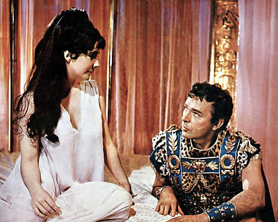 Richard Burton Photograph - Cleopatra  by Silver Screen