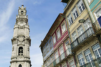 Ethereal - Clerigos Tower In Porto  Portugal by JM Travel Photography