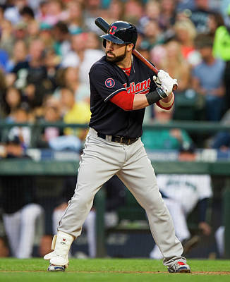 Photograph - Cleveland Indians V Seattle Mariners by Rich Lam