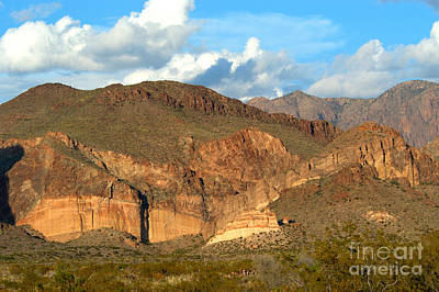 Casa Grande Photograph - Cliff Erosion With Slope Failure by Gregory G. Dimijian, M.D.