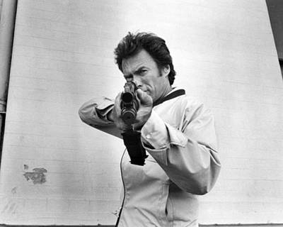 Clint Photograph - Clint Eastwood In The Enforcer  by Silver Screen