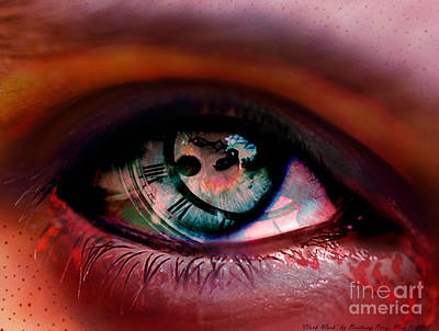 Digital Art - Clock Work by Brittany Perez