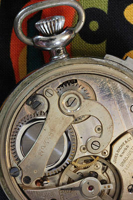 Photograph - Clockworks 5 by Mary Bedy