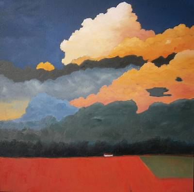 Painting - Cloud Rising by Gary Coleman
