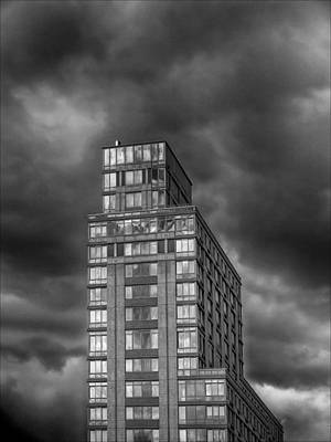 Bath Time - Clouds and Highrise by Robert Ullmann