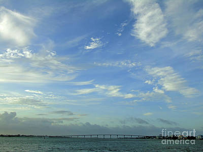 Photograph - Clouds Before Sunset by D Hackett