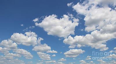 Photograph - Clouds One by Rod Ismay