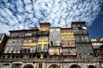 Photograph - Clouds Over Porto by John Rizzuto