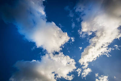 Photograph - Clouds Stratocumulus Blue Sky   by Rich Franco