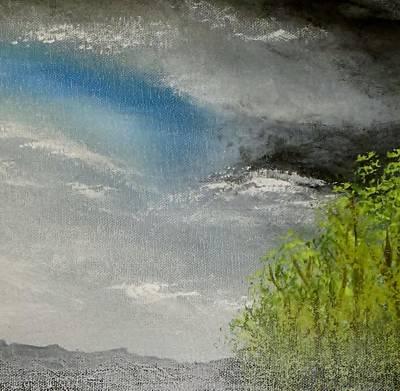 Cloudy Sky Art Print by Tim Townsend