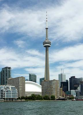 Well-known Photograph - Cn Tower by Victor Habbick Visions