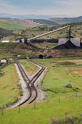 Coal Mine Rail-loading Facility Art Print