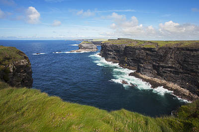 Coast Near Kilkee_ County Clare, Ireland Art Print by Carl Bruemmer