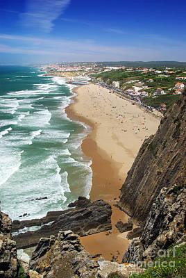 Roca Photograph - Coastal Cliffs by Carlos Caetano